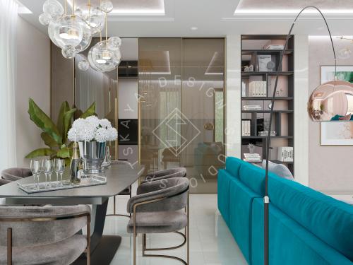 Дизайн проект интерьера жилого дома - 5