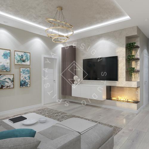 Дизайн квартиры в ЖК Панорама г. Днепр 2019г - 9