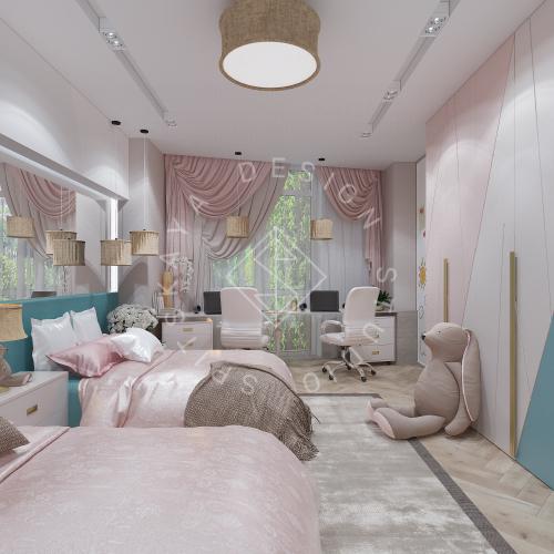 Дизайн квартиры 120 м2 - 14