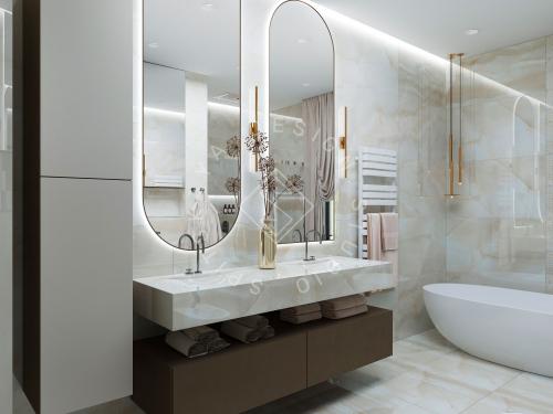 Дизайн проект интерьера жилого дома - 33