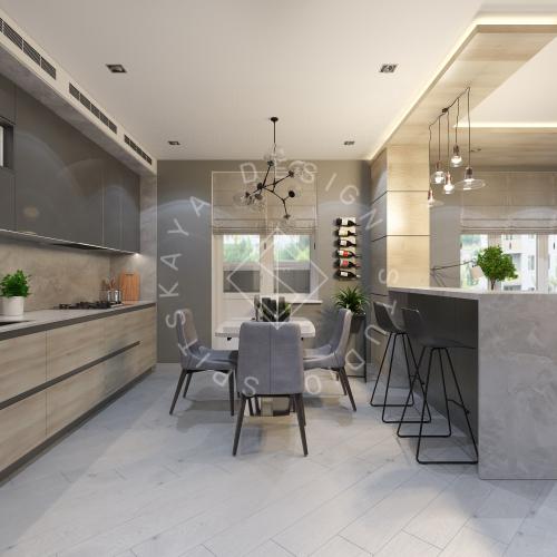 Дизайн интерьера квартиры в ЖК Чкаловский - 4
