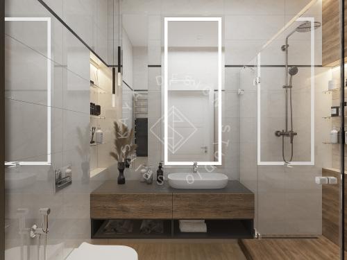 Дизайн интерьера квартиры в ЖК Грани - 17
