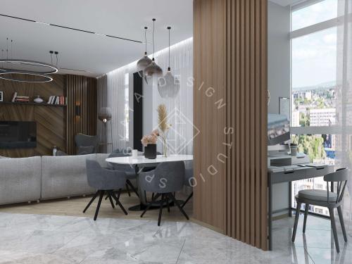 """Дизайн квартиры в ЖК """"Comfort City"""" - 12"""