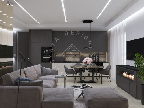 "Дизайн проект квартиры в ЖК ""Bartolomeo Resort Town"" - 4"