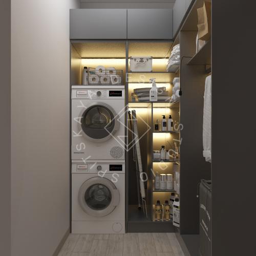 Дизайн интерьера квартиры в ЖК Грани - 13