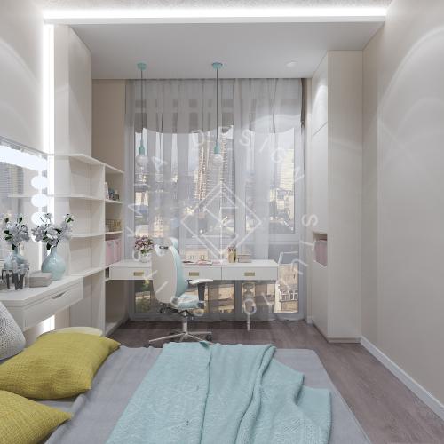 Дизайн интерьера квартиры в ЖК Comfort City Lux - 46