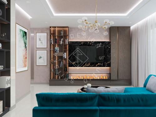 Дизайн проект интерьера жилого дома - 7