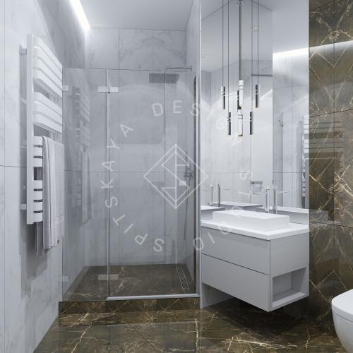 """Дизайн офиса в ЖК """" Бартоломео"""" - 60"""