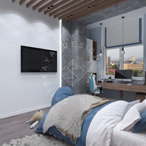 Дизайн интерьера квартиры в ЖК Comfort City Lux - 30