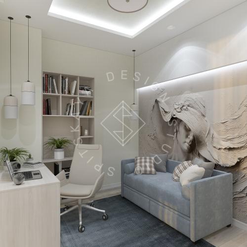 Дизайн квартиры в ЖК Панорама г. Днепр 2019г - 17