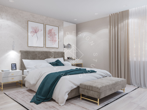 Дизайн проект небольшой квартиры - 19