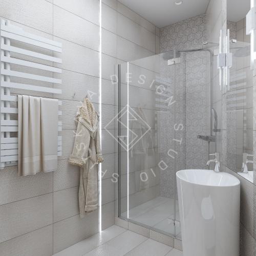 "Дизайн проект квартиры в ЖК ""Bartolomeo Resort Town"" - 29"