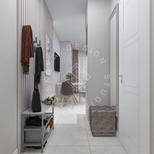 Дизайн однокомнатной квартиры в г. Грузия - 3