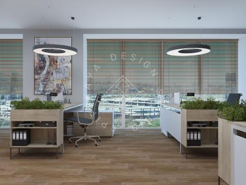"""Дизайн офиса в ЖК """" Бартоломео"""" - 24"""