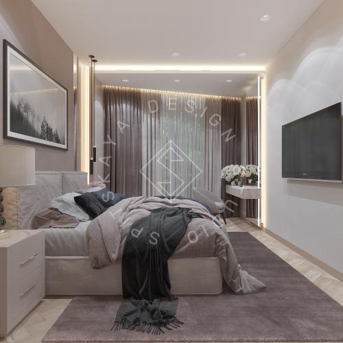 Дизайн квартиры 120 м2 - 28