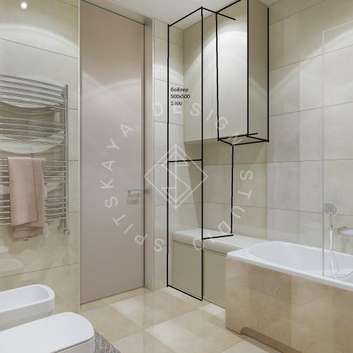 Дизайн квартиры 120 м2 - 21