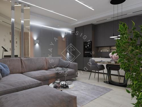 "Дизайн проект квартиры в ЖК ""Bartolomeo Resort Town"" - 3"