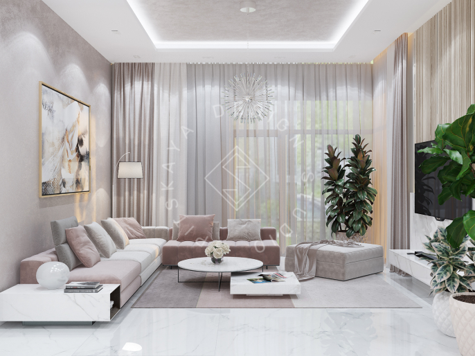 Дизайн проект интерьера  частного  дома г. Днепр