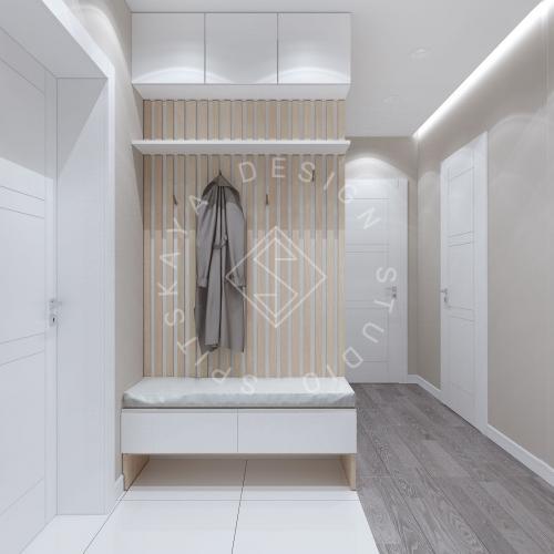 Дизайн проект квартиры в ЖК Республика - 10