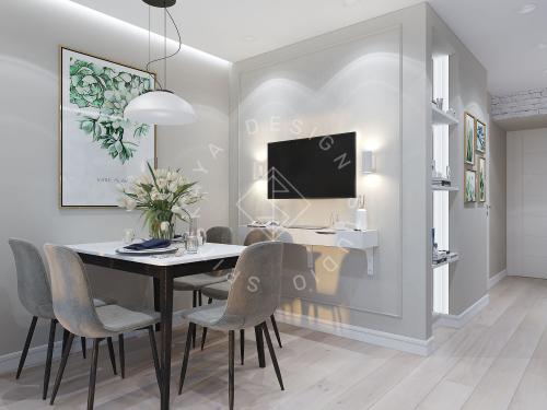 Дизайн проект небольшой квартиры - 5