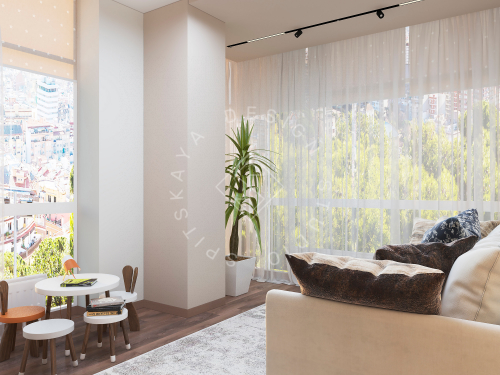 Дизайн квартиры в ЖК Панорама г. Днепр - 25