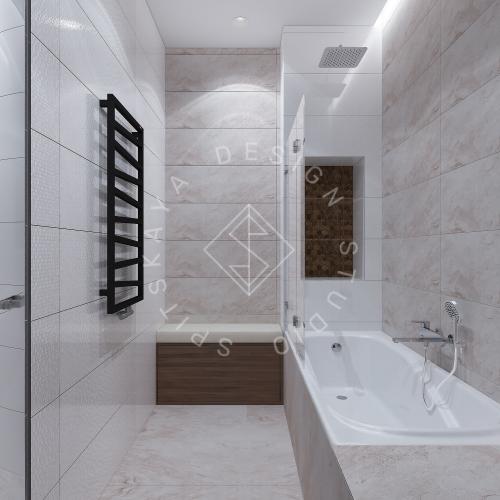 Дизайн интерьера квартиры в ЖК Comfort City Lux - 36