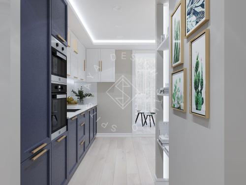 Дизайн проект небольшой квартиры - 6