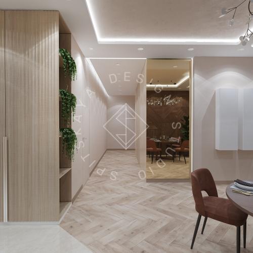 Дизайн квартиры 120 м2 - 12