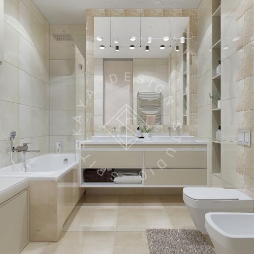 Дизайн квартиры 120 м2 - 20