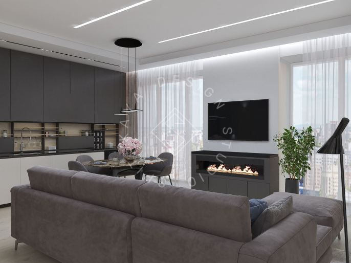 "Дизайн проект квартиры в ЖК ""Bartolomeo Resort Town"""