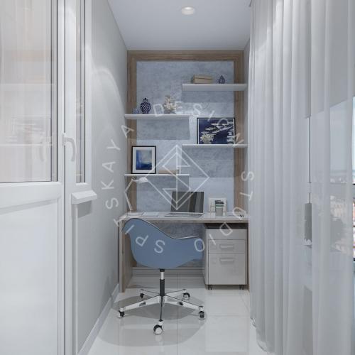 Дизайн проект квартиры в ЖК Республика - 8