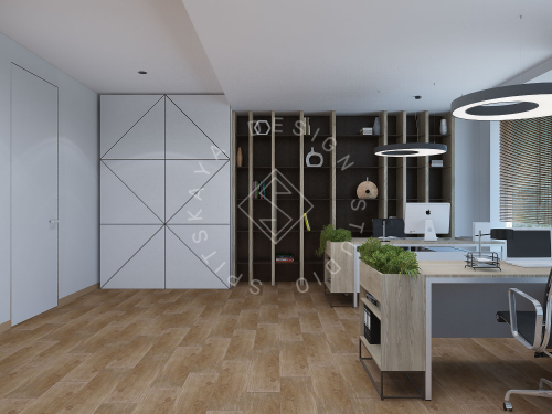 """Дизайн офиса в ЖК """" Бартоломео"""" - 23"""