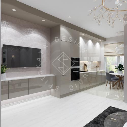 Дизайн интерьера квартиры под сдачу - 1