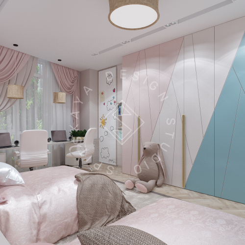 Дизайн квартиры 120 м2 - 15