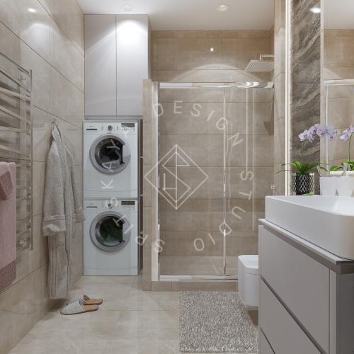 Дизайн квартиры 120 м2 - 23