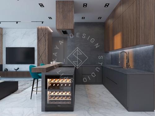 Дизайн квартиры в ЖК Панорама г. Днепр - 6