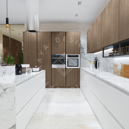 Дизайн интерьера квартиры в ЖК Comfort City Lux - 8