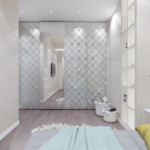 Дизайн интерьера квартиры в ЖК Comfort City Lux - 44