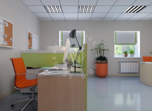 Дизайн офиса компании Восток газ г. Днепр - 8