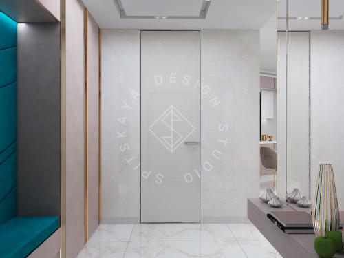"""Дизайн квартиры-студии в ЖК """"Bartolomeo Resort Town"""" г. Днепр - 2"""