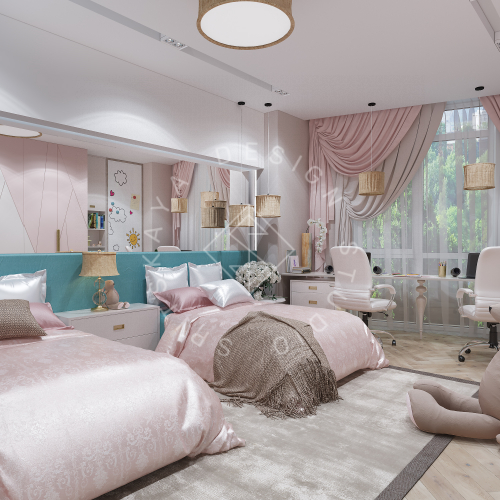 Дизайн квартиры 120 м2 - 16