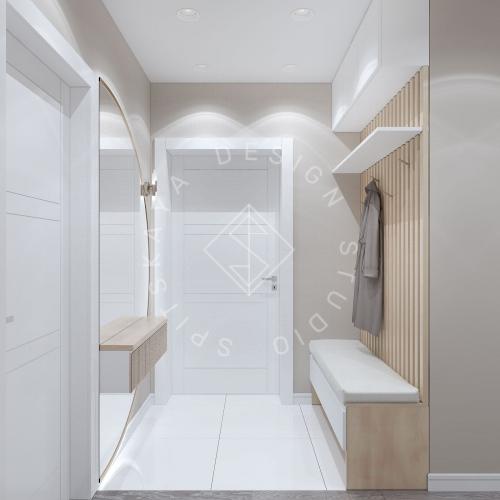 Дизайн проект квартиры в ЖК Республика - 11