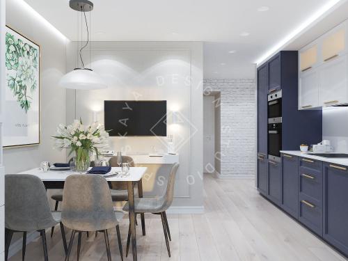 Дизайн проект небольшой квартиры - 1