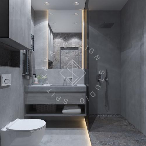 """Дизайн интерьера квартиры в стиле """"LOFT"""" ЖК """"RIVER PARK"""" - 17"""