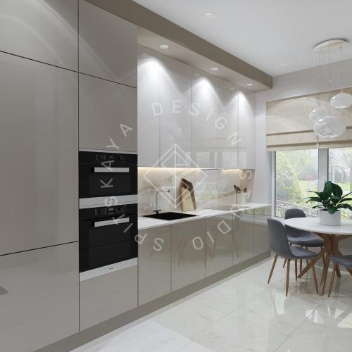 Дизайн интерьера квартиры под сдачу - 5