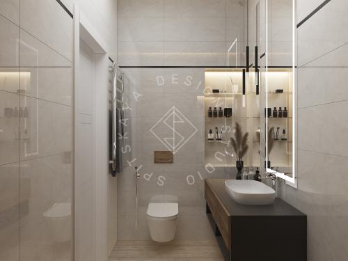 Дизайн интерьера квартиры в ЖК Грани - 19