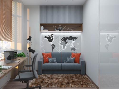 Дизайн квартиры в ЖК Панорама г. Днепр - 17