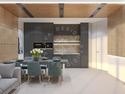 """Дизайн офиса в ЖК """" Бартоломео"""" - 42"""