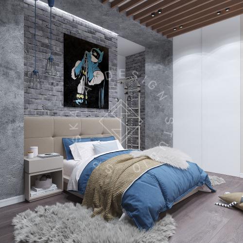 Дизайн интерьера квартиры в ЖК Comfort City Lux - 31