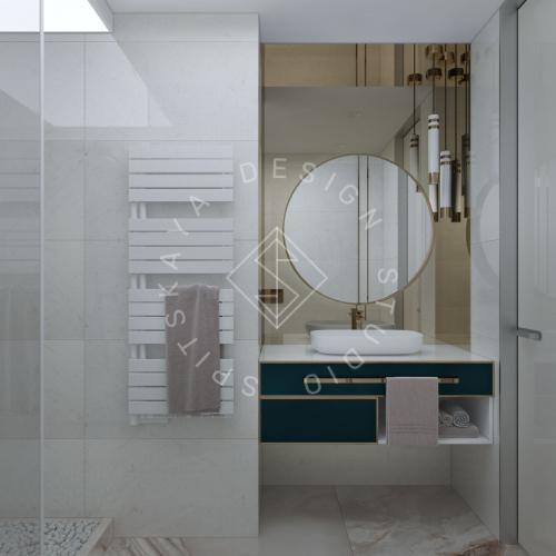 """Дизайн квартиры-студии в ЖК """"Bartolomeo Resort Town"""" г. Днепр - 4"""